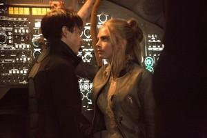 Valerian (Dane DeHaan) et Laureline (Cara Delevingne). DR