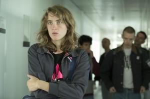 Sophie (Adèle Haenel), organisatrice des actions de terrain. DR