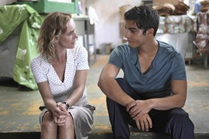 Edith (Sandrine Bonnaire) et Ali (Kamal El Amri). DR