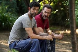 Don Pietro (Alessandro Gassmann) et Tommaso (Marco Giallini). DR