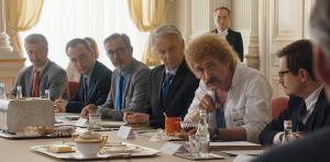 Jeff Tuche (Jean-Paul Rouve) préside le conseil des ministres. DR