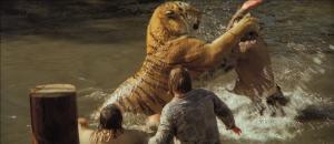 Quand un tigre s'amuse... DR