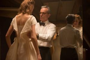 Alma (Vicky Krieps) et Reynolds Woodcock (Daniel Day-Lewis). DR