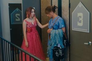 Lady Bird et sa mère (Laurie Metcalf). DR