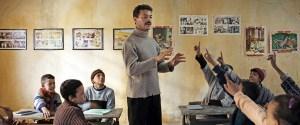 Abdellah (Amine Ennaji) et ses élèves. DR
