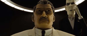 Kobayashi, l'inquiétant maire de Megasaki. DR