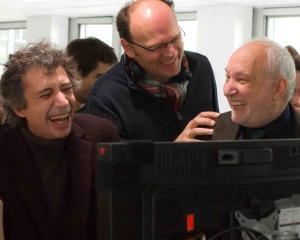 Jean-Pierre Améris sur son tournage.