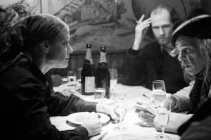 Une nuit dans un café avec un poète (Denis Lavant). DR