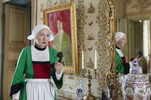 Emeline Bayart dans le rôle de Bécassine. DR
