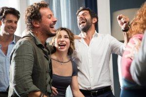Paolo (Stefano Accorsi), Sara (Sabrina Impacciatore) et Carlo (Pierfrancesco Favino. DR