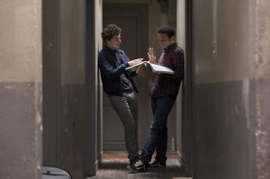 Antoine et Benjamin révisent partout. DR