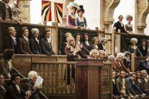 Quand Marat (Denis Lavant) monte à la tribune… DR