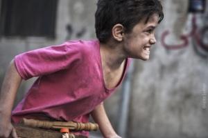 Zain (Zain Al Rafeea), un gamin qui ne veut pas s'en laisser compter. DR