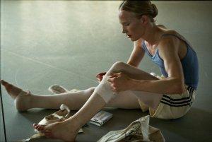 Après la danse, le corps blessé et endolori... DR
