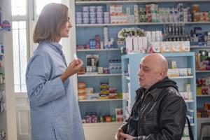 Lucie (Carole Bouquet) et Jean-Pierre (Michel Blanc). DR