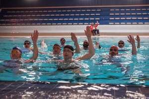La natation synchronisée masculine, un sport d'hommes? DR