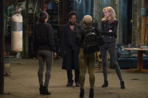 Linda (Michelle Rodriguez), Veronica (Viola Davis), Belle (Cynthia Erivo) et Alice (Elizabeth Debicki). DR