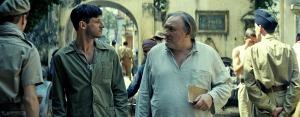 Tassen (Gaspard Ulliel) et Saintonge (Gérard Depardieu). DR