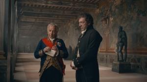 Fouché (Fabrice Luchini) et François Vidocq. DR