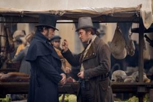 Vidocq (Vincent Cassel) et le redoutable Nathanël (August Diehl). DR