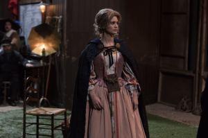 Jeanne (Lucie Boujenah) dans la peau de Roxane, amour muet de Cyrano. DR