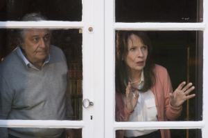 Les époux Verneuil: Christian Clavier et Chantal Lauby. DR