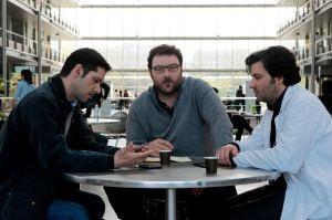 Alexandre, François (Denis Menochet) et Gilles (Eric Caravaca) passent à l'action. DR