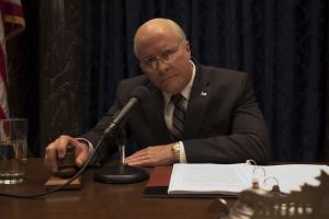 Dick Cheney (Christian Bale), plus co-président que vice-président.