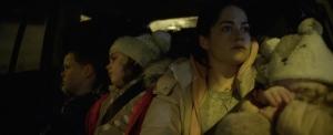 Une famille dans une voiture... DR