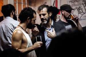 Pablo (Juan Pablo Olyslager, à dr) et son ami Francisco.