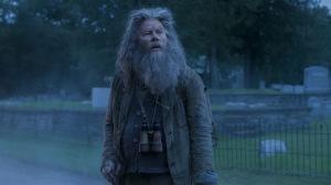 Tom Waits derrière la barbe de Bob, l'ermite... DR
