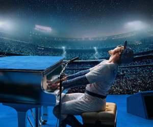 Elton John (Taron Egerton) fait le show. DR