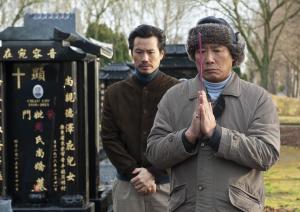 """""""Made..."""": François (Frédéric Chau) et Meng, son père (Bing Yin). DR"""