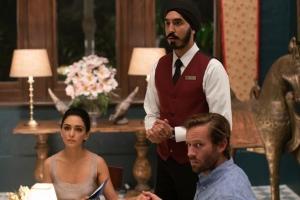 """""""Attaque..."""" Arjun avec Zhara (Nazanin Boniadi) et David (Armie Hammer). DR"""