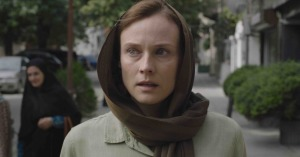 Rachel Currin (Diane Kruger), une agent du Mossad en immersion à Téhéran. DR