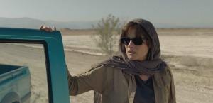 Rachel en opération dans le désert iranien. DR