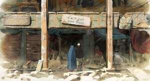 Dans les rues de Kaboul...  DR