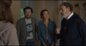 Frédéric (Eric Caravaca), Christine (Camille Cottin) et le Berger (Jean-Pierre Darroussin). DR