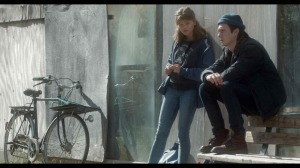 Camille et Boris, son petit ami (Spencer Bogaert). DR