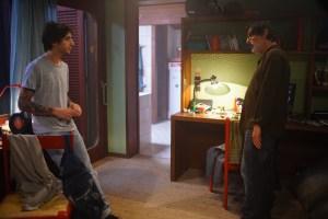 Henri face à son fils Raphael (Ben Attal). DR