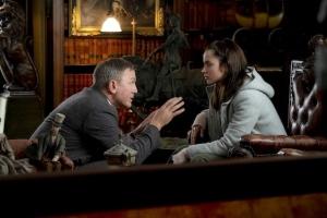 A COUTEAUX TIRES: Benoît Blanc (Daniel Craig) et Marta Cabrera (Ana de Armas). DR