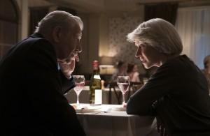 """L'art..."": Betty McLeish (Helen Mirren) et Roy Courtnay (Ian McKellen). DR"
