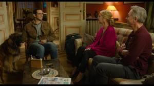 JOYEUSE RETRAITE!: Arnaud (Omar Mebrouk), Marilou (Michèle Laroque) et Philippe (Thierry Lhermitte). DR
