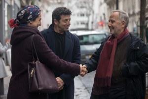 """Le meilleur..."": Randa (Zineb Triki), César et Arthur. Photos Mika Cotellon"