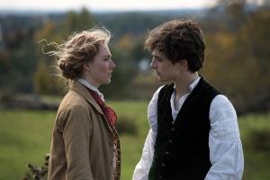 Jo March (Saoirse Ronan) et Laurie (Timothée Chalamet). DR