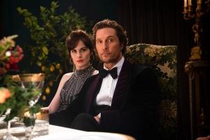 """The Gentlemen"": Michelle Dockery et Matthew McConaughey. DR"