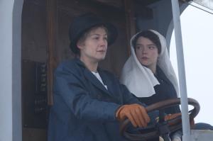 Radioactive: Marie Curie et sa fille Irène (Anya Taylor-Joy) sur les champs de bataille de 14-18. DR