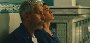 Fares Ben Youssef (Sami Bouajila) et sa femme Meriem (Najla Ben Abdallah) attendent à l'hôpital. DR