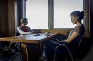 Avec Léa, la mère de Jean (Anne Consigny).