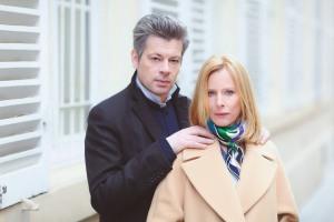 Les Montlibert (Benjamin Biolay et Karin Viard), un couple de la communauté française de Vienne. DR